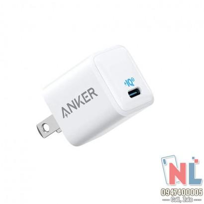 Sạc nhanh Anker Powerport III Nano 20W A2633