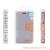Bao da iPhone 6, 6S Mercury Canvas Diary chính hãng