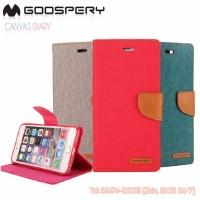 Bao da iPhone 7 Mercury Canvas Diary chính hãng