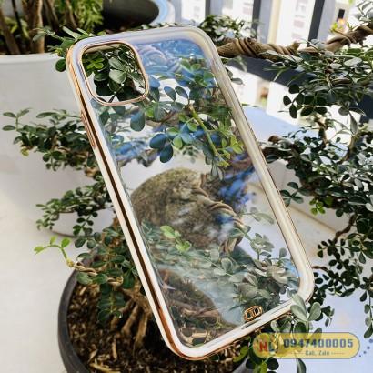 Ốp lưng iPhone 11 Likgus 3D màu viền vuông