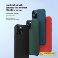 Ốp lưng iPhone 12 Pro Max Nillkin Frosted Shield