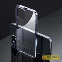 Ốp lưng iPhone 12/ 12 Pro Silicon viền màu hiệu Rock