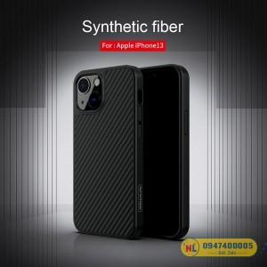 Ốp lưng iPhone 13 Nillkin Fiber Carbon chính hãng