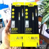 Cáp 3.5mm AUX hiệu Remax dài 2m