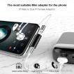 Baseus 2in1 Adapter sạc và nghe nhạc (charging and headphone)