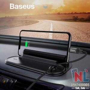 Bảng kệ số điện thoại trên xe hơi hiệu Baseus
