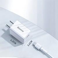 Bộ sạc iPhone 11 Quick Charger PD 3.0 18W chính hãng Baseus