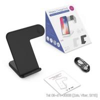 Dock sạc không dây 2in1 cho điện thoại và Apple Watch