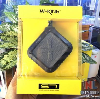 Loa W-King S7 chống nước IPX6, chống va đập