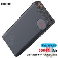 Pin dự phòng sạc nhanh Baseus Mulight 30,000mAh - 33W cho Smartphone/ Tablet/ Macbook/ Laptop (33W PD & QC3.0 , 4*Port USB+ Type C in/out, LED Display)