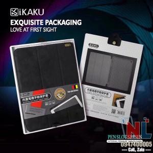 Bao da iPad Pro 11 hiệu iKaku khay dẻo có ngăn chứa bút viết