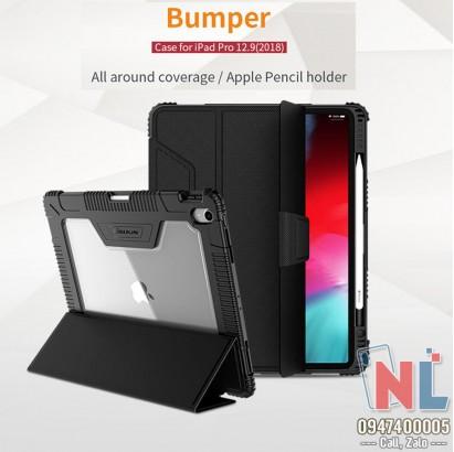 Bao da iPad Pro 12.9 2018 chống sốc Nillkin Bumper