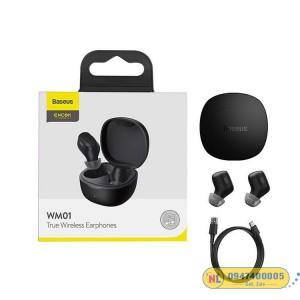 Tai nghe Bluetooth Baseus Encok True Wireless Earphones WM01