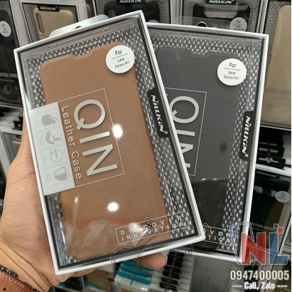 Bao da Galaxy A51 Nillkin QIN chính hãng