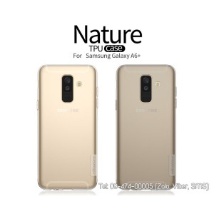 Ốp lưng Galaxy A6 Plus 2018 Silicon Nillkin