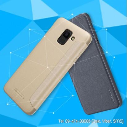 Bao da Galaxy J6 2018 Nillkin Sparkle chính hãng