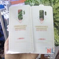 Dán PPF Galaxy S9 Plus mặt lưng cao cấp chống trầy xước