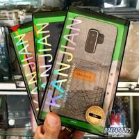 Ốp lưng Galaxy S9 Plus Kanjian vải có ngăn chứa thẻ