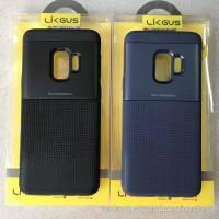 Ốp lưng Galaxy S9 - S9 Plus Likgus carbon kim loại