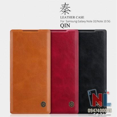 Bao da Galaxy Note 10/Note 10 5G Nillkin QIN