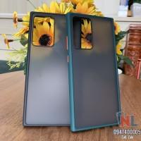 Ốp lưng Galaxy Note 20 Ultra Likgus nhám viền màu