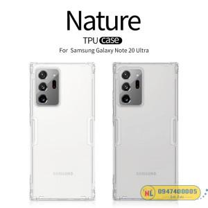 Ốp lưng Galaxy Note 20 Ultra Nillkin silicon chính hãng