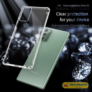 Ốp lưng Galaxy Note 20 Nillkin Silicon chính hãng