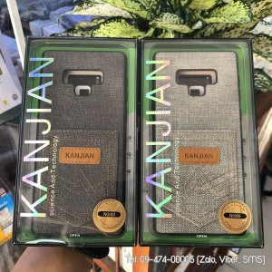 Ốp vải Galaxy Note 9 Kanjian chứa thẻ