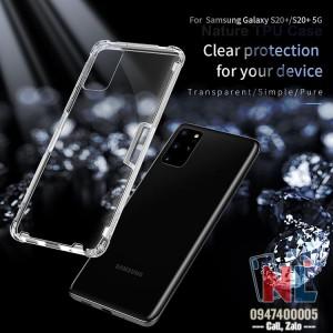 Ốp lưng Galaxy S20 Plus silicon Nillkin chính hãng