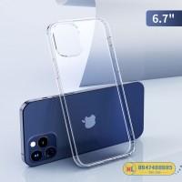Ốp lưng trong suốt iPhone 12 Pro Max Rock chính hãng