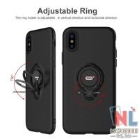 Ốp lưng iPhone X/XS/XS Max iConFlang ring chống lưng