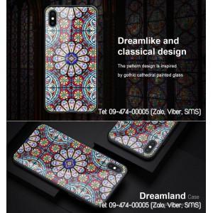 Ốp lưng iPhone Xs Max Nillkin Dreamland lưng kính