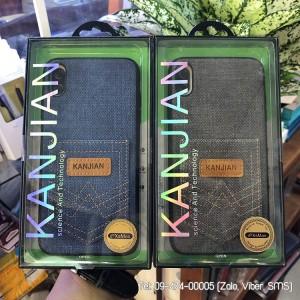 Ốp lưng vải iPhone XS Max Kanjian chứa thẻ