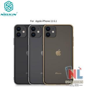 Ốp silicon iPhone 11 6.1 silicon trong suốt Nillkin chính hãng