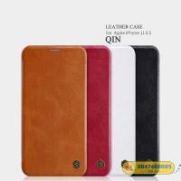 Bao da iPhone 11 Pro Max 6.5 Nillkin Qin có khe chứa thẻ