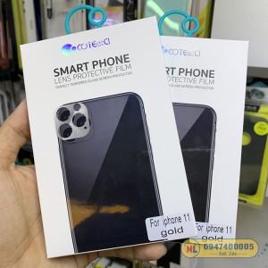 Kính bảo vệ Camera iPhone 11 Pro/Pro Max COTEetCI