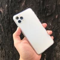 Ốp lưng iPhone 11 Pro Max trong nhám chống xước Totu