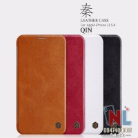 Bao da iPhone 11 Pro 5.8 Nillkin Qin chính hãng