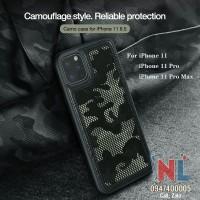 Ốp lưng iPhone 11/ 11 Pro/ 11 Pro Max Nillkin Camo kiểu lính ngụy