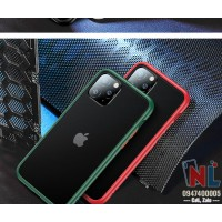 Ốp lưng iPhone 11 Pro/ Pro Max Totu Gingle Series lưng nhám