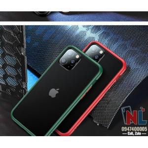 Ốp lưng iPhone 11 Pro/ Pro Max Totu Gingle Series lưng nhám