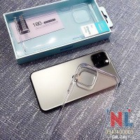 Ốp lưng iPhone 11 Pro/ 11 Pro Max Memumi cứng trong suốt