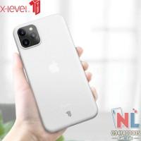 Ốp lưng iPhone 11 Pro/ 11 Pro Max siêu mỏng 0.4mm X-level