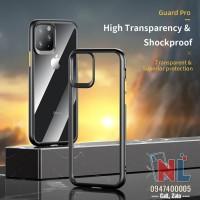 Ốp lưng iPhone 11 Pro/ Pro Max trong suốt viền màu Rock