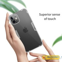 Ốp lưng silicon iPhone 12 Mini Nillkin chính hãng