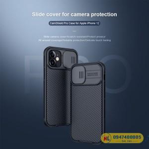 Ốp lưng iPhone 12 Nillkin CamShield chính hãng
