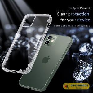 Ốp lưng silicon iPhone 12 Nillkin chính hãng