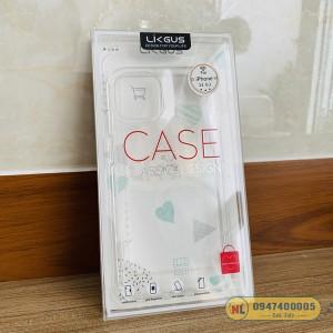 Ốp lưng iPhone 13 Pro Likgus trong suốt không ố vàng