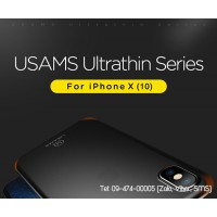 Ốp lưng iPhone X (10) Usams Ultraslim series mỏng 0.2mm