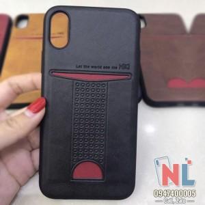 Ốp lưng iPhone X có nhét card